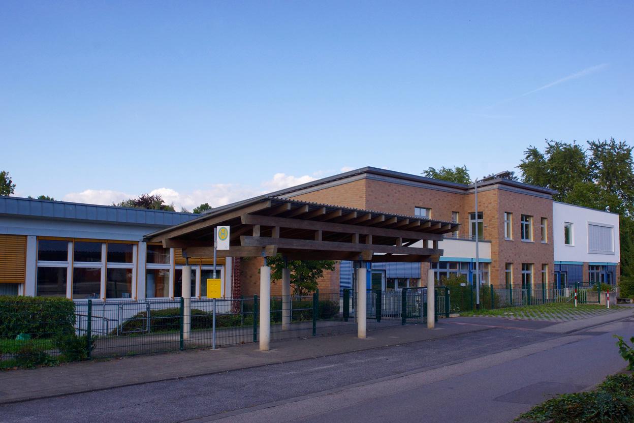 Schulgebäude der Schule Zum Römerturm